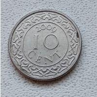 Суринам 10 центов, 2009 6-11-31
