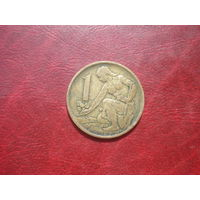 1 крона 1969 год Чехословакия