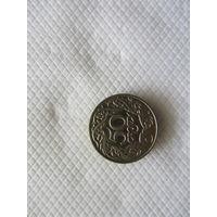 50 грошей 1923 Польша никель