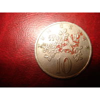 10 центов 1975 года Ямайка