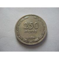 Израиль 250 прутот 1949г