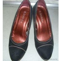 Туфли женские, замшевые, удобная колодка, р-р 38
