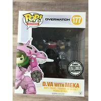 Blizzard Funko Pop! Overwatch D.VA with Meka (Carbon Fiber) #177
