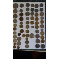 Монеты разные европейские