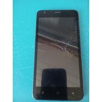 Мобильный телефон Texet TM-5016-8 gb  батарея рабочая на запчасти