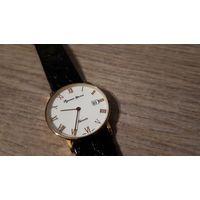 Часы Русское время, кожаный ремешок.