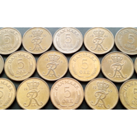 Дания. 15 монет - одним лотом.
