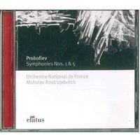 CD Prokofiev, Orchestre National de France, Mstislav Rostropovitch - Symphonics Nos.1&5 (2002)