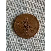 Египет 40 пара 1864 г. Редкая разновидность!