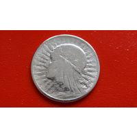2 Злотых 1933 год -Речь Посполитая Польша- *серебро