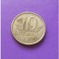 10 центов 2010 Литва #01