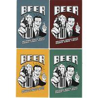 Календарик Болгарии, пиво,4 шт, 2020
