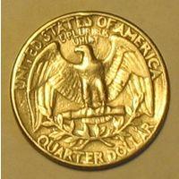 Квотер (25 центов) 1965 США