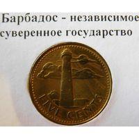 Барбадос 5 центов 1988 год