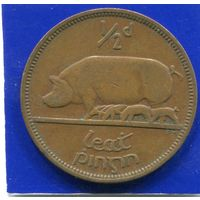 Ирландия 1/2 пенни 1949