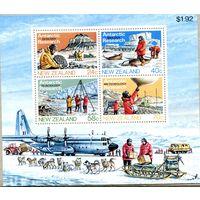 Новая Зеландия. Исследования в Антарктиде. Блок
