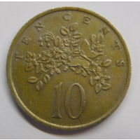 Ямайка 10 центов 1975 г