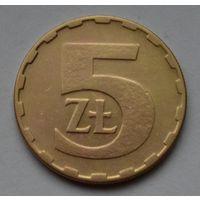 Польша 5 злотых, 1984 г.