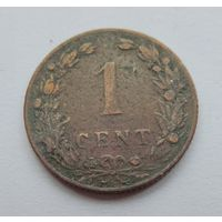 Нидерланды, 1 цент 1904 год