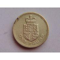 Великобритания 1 фунт 1988