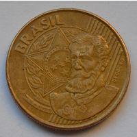 Бразилия 25 сентаво, 2002 г.