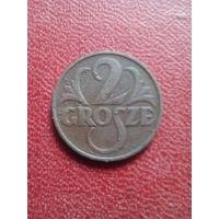 2 гроша 1934г.