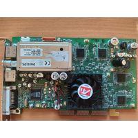 Видеокарта AGP ATI Radeon 9000 64mb DDR