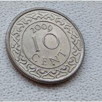 Суринам 10 центов, 2009 6-11-32