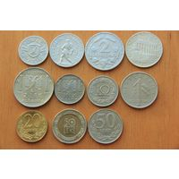 Коллекция монет 75 шт!