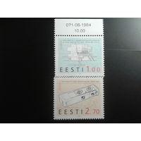 Эстония 1994 Европа полная серия