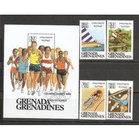 Гренада и Гренадины 1988 Олимпийские игры