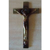 Крест настенный православный. Размер 16.5-29 см. Алюминий.