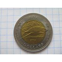 Кокосовые острова 5 долларов 2004г