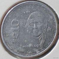 Мексика, 10 песо 1986 года