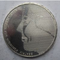 Нидерланды, 50 гульденов, 1984, серебро