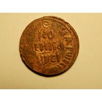 Монета-копейка-1712г.