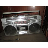 С 1 рубля.Радиомагнитола JVC-RS-680.Япония.