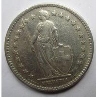 Швейцария. 2 франка 1944 Серебро. 262