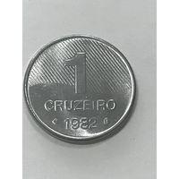 1 крузейро, 1982 г., Бразилия