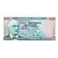 Исландия 100 крон 1961 UNC