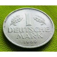 1 дойч-марка F 1989 года.