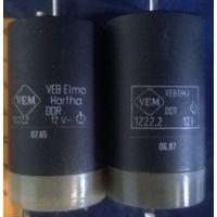 Электродвигатель 12 Вольт. Германия. Veb Elmo Hartha 1222.2 DDR 12V