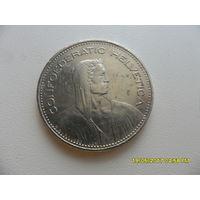 5 франков Швейцария 1995 год, KM# 40a.4, 5 FRANCS - из коллекции