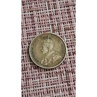 Канада 10 цент 1912 г