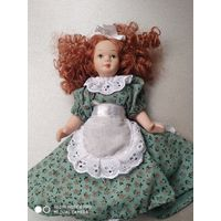 Керамическая кукла.- Пани Марта. Европа.