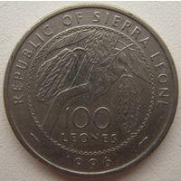 Сьерра-Леоне 100 леонов 1996 г.
