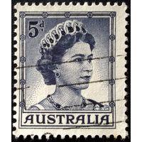 "Австралия. Стандартная марка. 1959г. Тип ""А"""