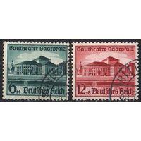 1938 - Рейх - Театр Саар Mi.673-74
