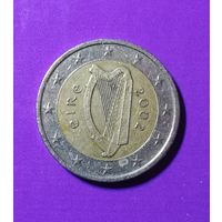 2 евро ирландия 2002 г