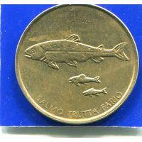 Словения 1 толар 2001